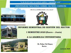 EN ASAMBLEA UNIVERSITARIA DE LA UNDAC, CONFORMAN EL COMITÉ ELECTORAL 2020 – 2021