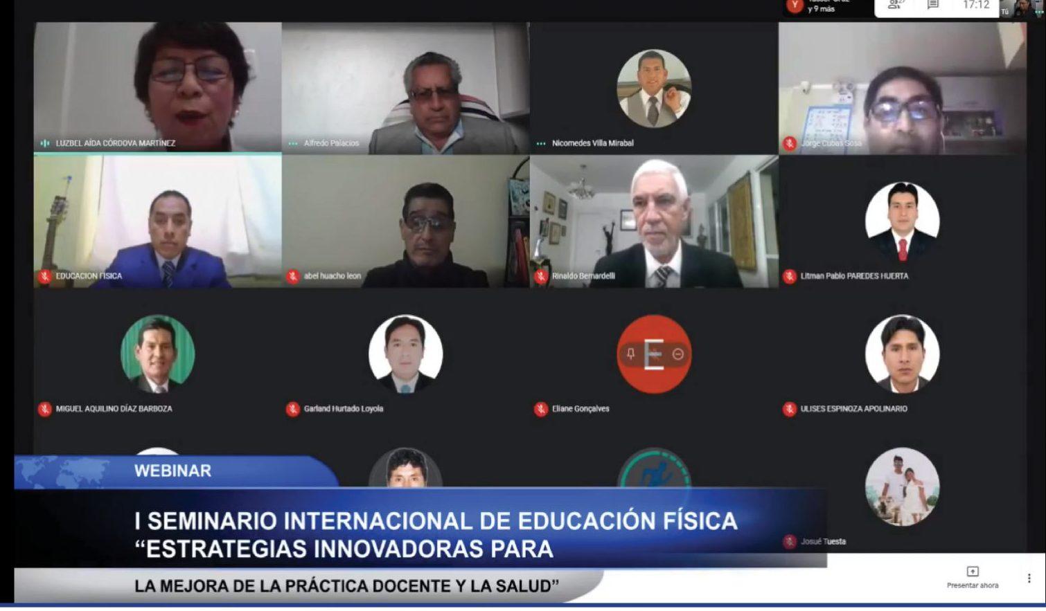 MÁS DE 12 MIL PERSONAS PARTICIPARON DEL SEMINARIO INTERNACIONAL DE EDUCACIÓN FÍSICA 2020