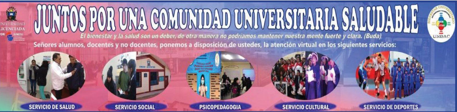 LA UNDAC PROMUEVE EL BIENESTAR FÍSICO Y MENTAL DE LA COMUNIDAD UNIVERSITARIA