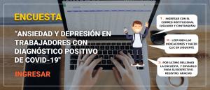 ANSIEDAD Y DEPRESIÓN EN TRABAJADORES CON DIAGNÓSTICO POSITIVO DE COVID-19,UNDAC- PASCO 2020