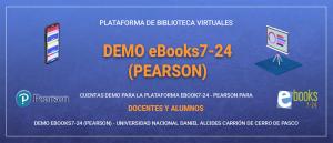 DEMO eBooks7-24  (PEARSON)